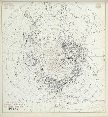 Daily Synoptic Weather Maps Noaa Central Library